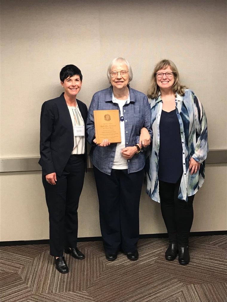 Noelle Baker, Phyllis Cole, and Jana Argersinger